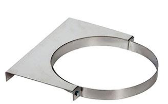 металлический элемент для фиксации трубы