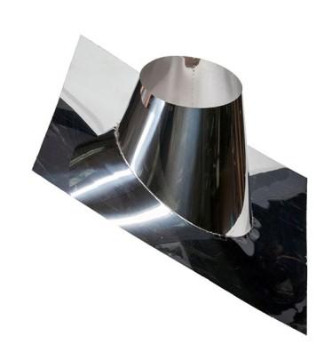 стальная деталь для дымовыводящей трубы
