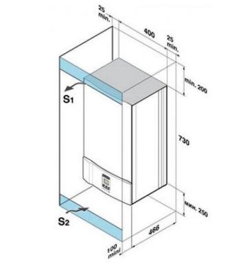 монтаж настенного агрегата