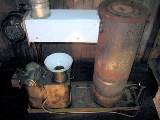 отопитель на отработанном масле
