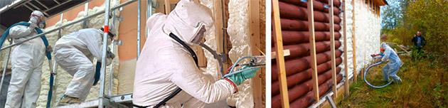 пеноизол для утепления зданий