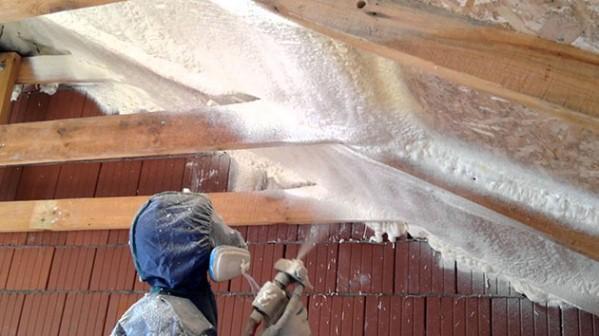 теплоизоляция крыши пенополиуретаном