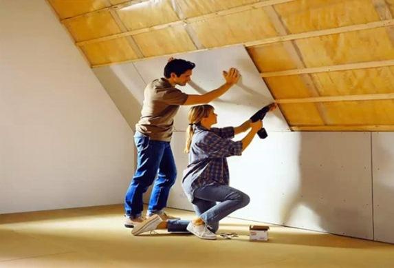 теплоизоляция крыши своими руками