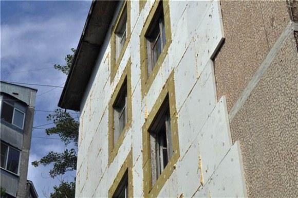утепление пенопластом многоэтажного здания