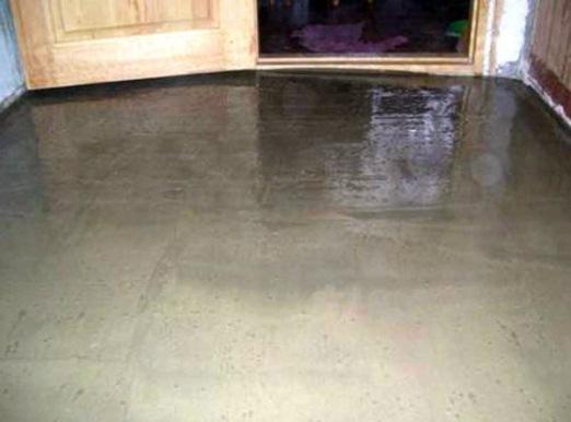 замоноличивание теплоизоляционного слоя под цементно-песчаную стяжку