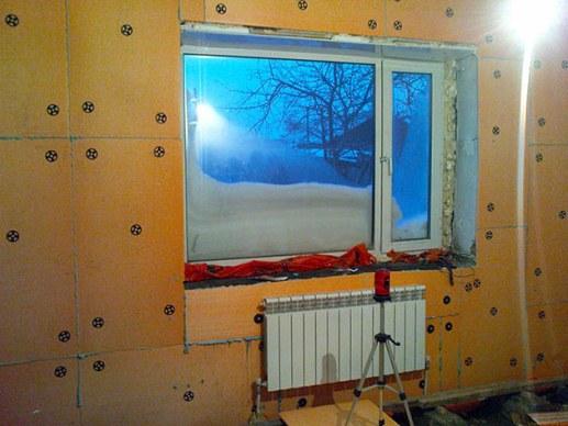 технология утепления жилого помещения