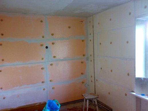 утепление стен полимерным материалом