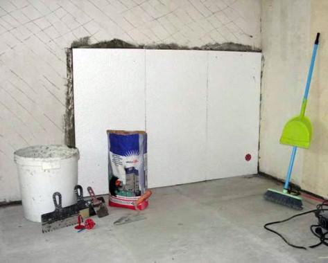утепление кирпичных стен пенополистеролом