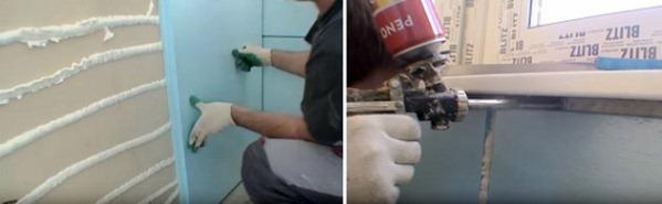 теплоизоляция лоджии пеноплексом