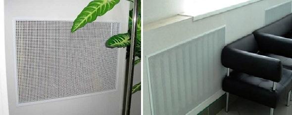 Встраиваемые панели для радиаторов