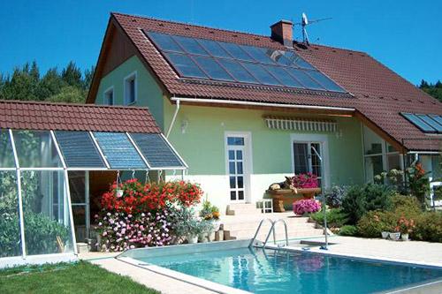 водяные солнечные коллекторы